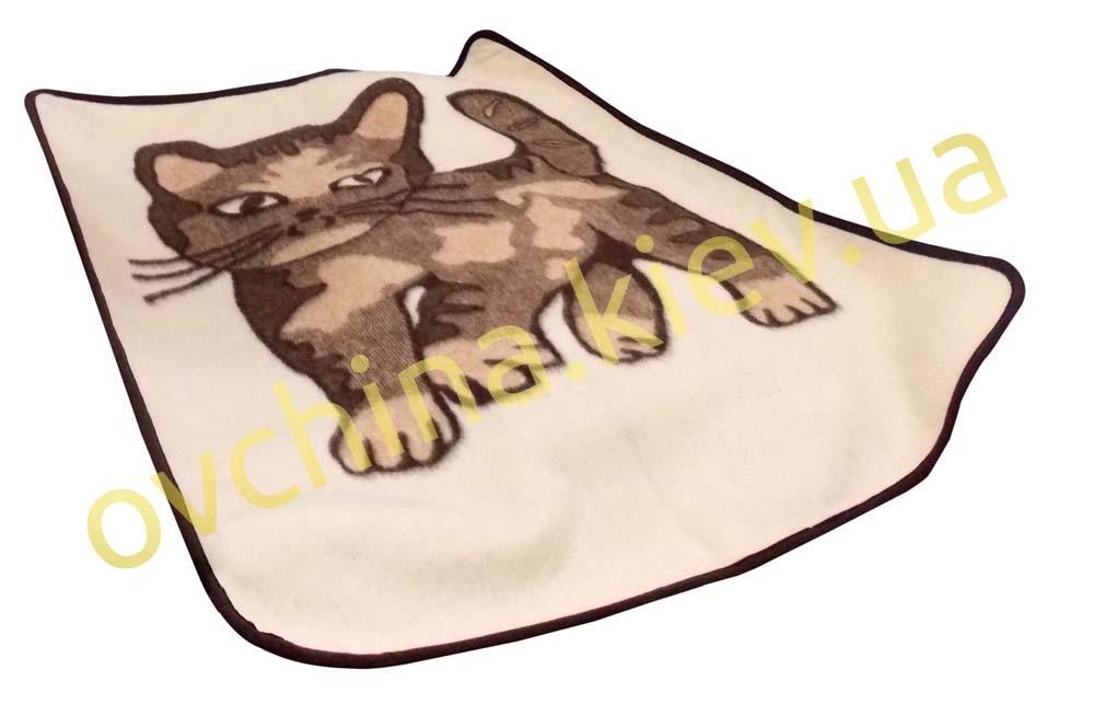 Одеяло детское с котиком /Eluna/110*95