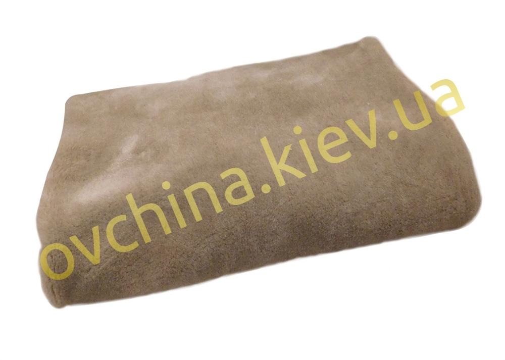 Накидка на сиденье автомобиля из натурального меха овчины (мутона) Пепельная - 1